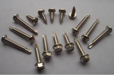 不锈钢钻尾螺丝 410不锈钢钻尾螺钉 无锡不锈钢钻尾螺钉生产厂家 -不